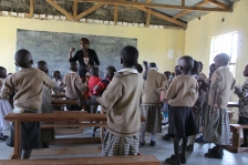 Maasai primary school