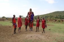 Kenyan jumping