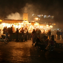 Marrakesh night market