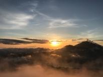 Sunrise from Mt Batur